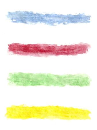 Paint brush strokes  Banner