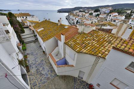 Village of Cadaques in Costa Brava, Catalonia, Spain photo