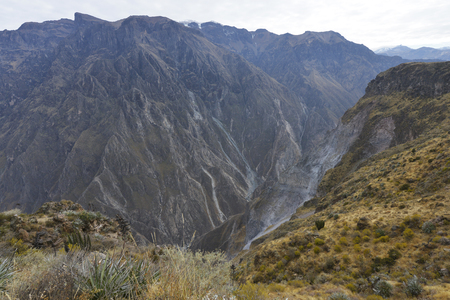 the deepest: Colca Canyon is the deepest in the world