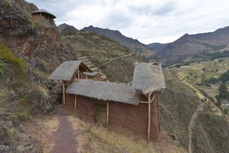 pisac: Pisac, Sacred Valley, Peru Stock Photo