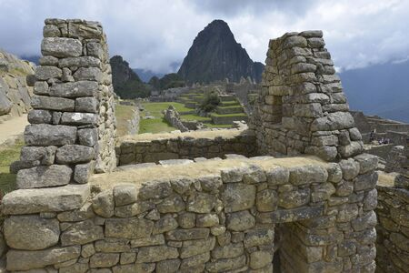 inca architecture: Machu Picchu, Peru, UNESCO World Heritage Site in 1983. One of the New Seven Wonders of the World
