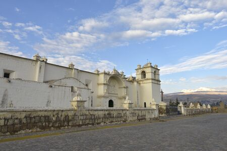 immaculate conception: Immaculate Conception Church in Yanque, Peru