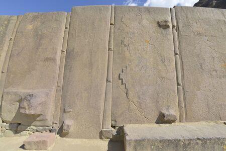 inca ruins: Peru, Ollantaytambo, Inca ruins in the sacred valley in the Peru