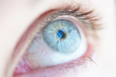 Close-up of a womans eye. Reklamní fotografie