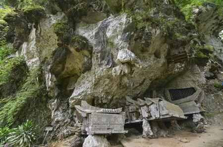 sulawesi: Tana Toraja Cemetery in Kete Kesu, Sulawesi, Indonesia
