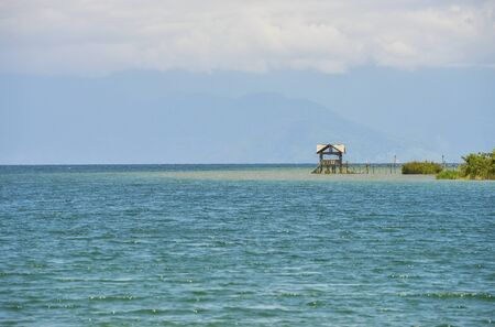 sulawesi: Panoramic view of a beach in Sulawesi, Indonesia