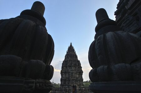 prambanan: Prambanan temple in Yogyakarta, Java, Indonesia