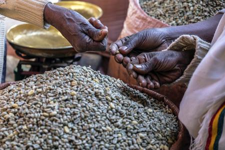 Chicchi di caffè, Etiopia