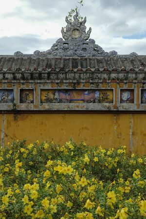 Imperial City in Hue, Vietnam