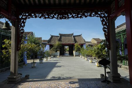 Trung Hoa Assembly Hall establish in 15th by Chinese merchants in Hoi An (the Fujian), Vietnam