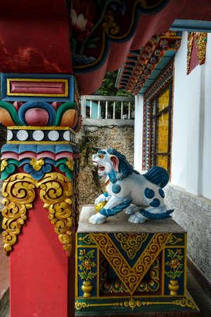 Thang Gyal Monastery in Yuksom