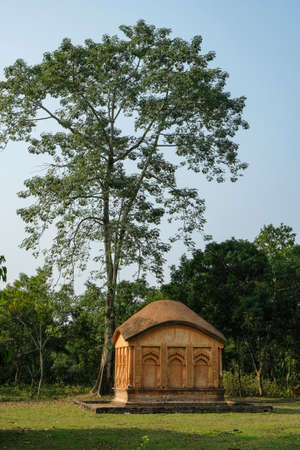 Ruins of the Dimasa Kingdom in Khaspur in the state of Assam, India.