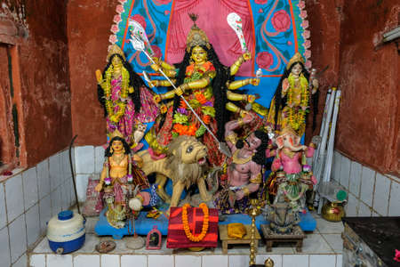 Durga Temple in the city of Udaipur, the ancient capital of Tripura. India.