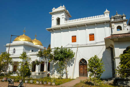 Shree Govindaji Temple is a Vaishnava temple, it is located next to the palace of the former rulers of the then Manipur Kingdom in Imphal, Manipur, India. Stock Photo