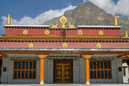 Views of the Tabo Monastery in Tabo village  Spiti valley, Himachal Pradesh, India.