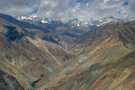 Views of the Hangrang Valley from the village of Nako in Himachal Pradesh, India.