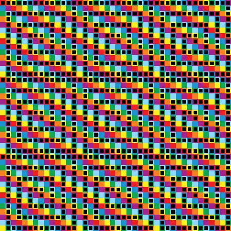 checkerboard backdrop: rainbow checkered background