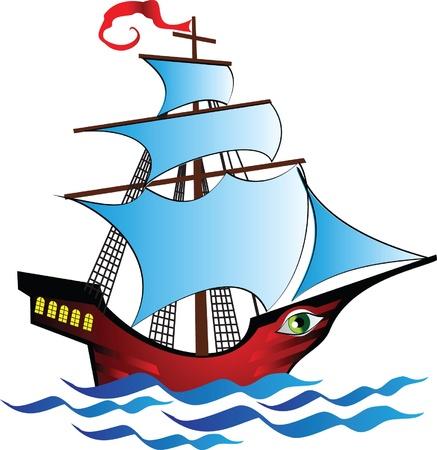 schepen: fantastische boot met gaten