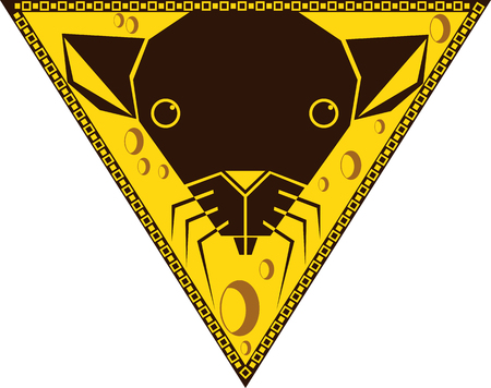 year of the rat: Chinese horoscope signs in the triangle - Year of the Rat