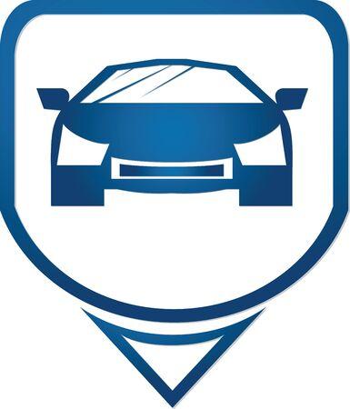 fast car icon symbols photo