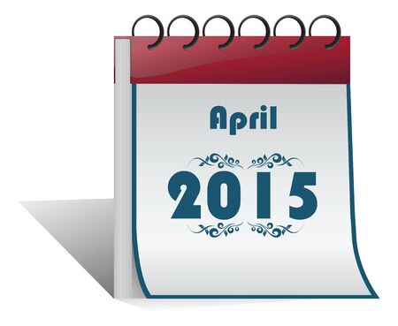 april clipart: 2015 Happy New Year