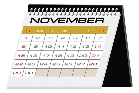 desktop calendar: desktop calendar Stock Photo