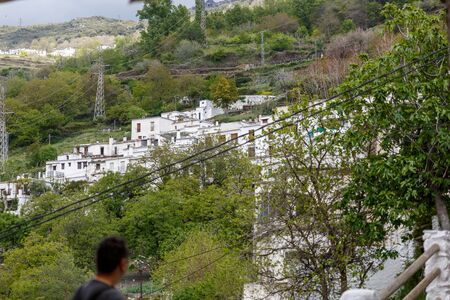 View of a typical village of the alpujarra, Granada, Spain Stock Photo