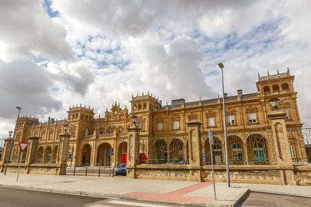 Zamora train station, Spain, via de la Plata