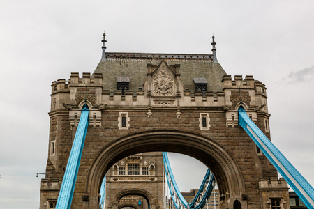 Tower Bridge over the River Thames in London, United Kingdom