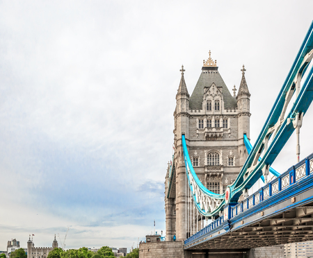 The iconic Tower Bridge, London, England. United Kingdom