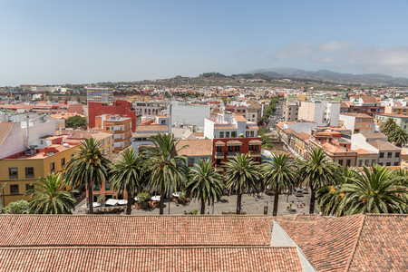 View of part of the city of La Laguna, on the island of Tenerife, Canary Islands, Spain, Europe 版權商用圖片