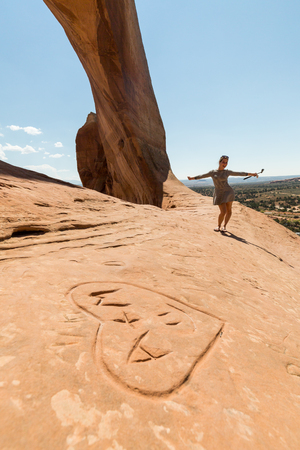 moab: Wilson Arch, Moab, Utah