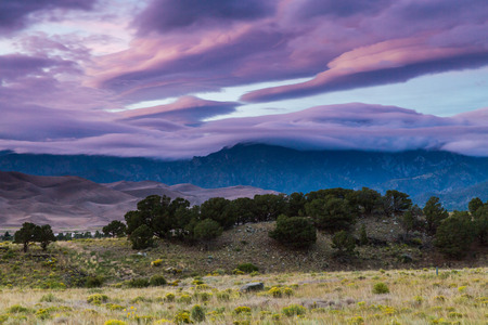 luis: Great Sand Dunes National Park at sunset