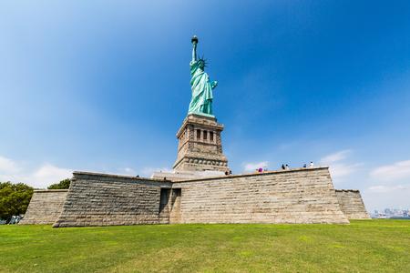 Estatua de la libertad, Nueva York en agosto de el año 2015