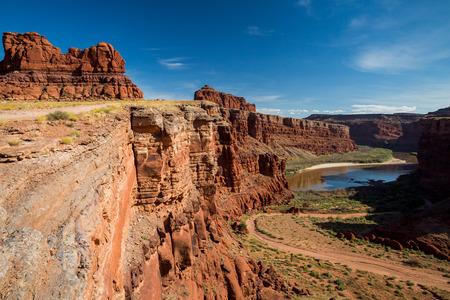 canyonlands: Views of Canyonlands National Park along the White Rim Road.