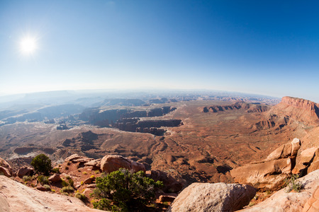 Views of Canyonlands National Park along the White Rim Road.