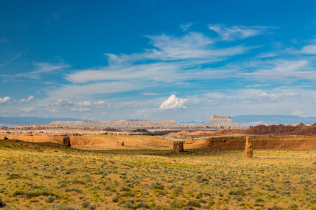 goblin: Field near Goblin Valley State Park, Utah
