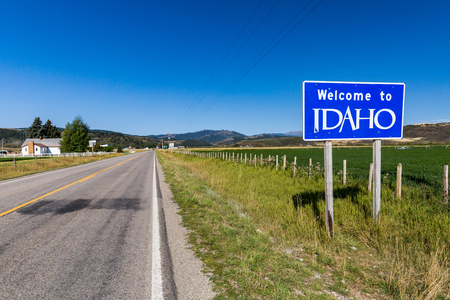 Welcome sign to Idaho State