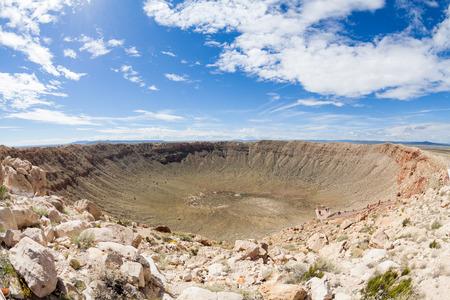 Vue de la Meteor Crater, Flagstaff, Arizona