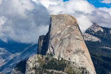 Half Dome in Yosemite National Park, Californië