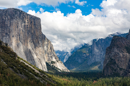 El Capitan in Yosemite National Park, California Stock Photo