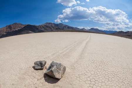 racetrack: Racetrack in the Death Valley National Park