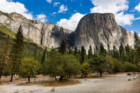 el capitan: El Capitan in Yosemite National Park, California Stock Photo