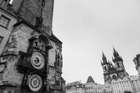cz: Astronimical clock in Prague, Czech Republic