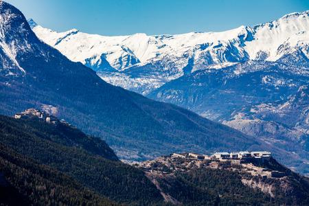 pres: The Valley of Val-des-Pres, Briancon, France 2015 Stock Photo
