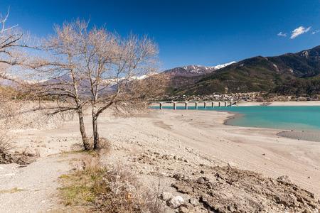pres: Around the Lake Serre-Poncon, Hautes-Alpes, France