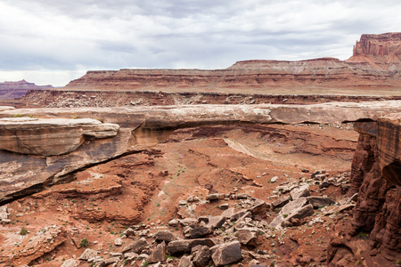 Muscleman Arch in Canyonlands National Park, Utah, USA