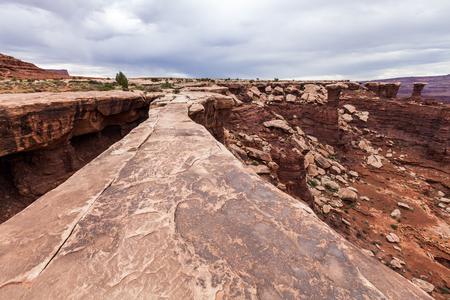 canyonland: Muscleman Arch in Canyonlands National Park, Utah, USA