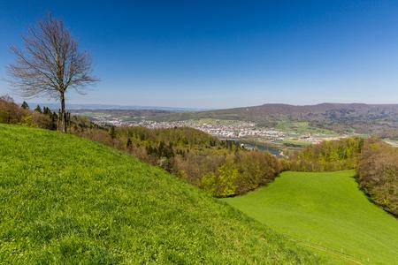 aargau: Valley of Limmat overlook, Aargau, Switzerland