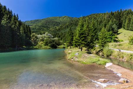 ruzomberok: View of the Cutkovska Dolina Valley near Ruzomberok in Slovakia